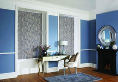 Vertical Blinds manufactured by Rainbow Blinds Trade Supplier UK