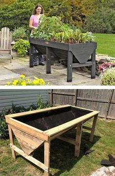 As we discussed before, wood pallet is being much favorably used for the creation of the wood pallet garden planter pieces for your house garden beauty. This planter garden design is another one of the ideal option for you to repurpose the wood pallet into something really interesting.