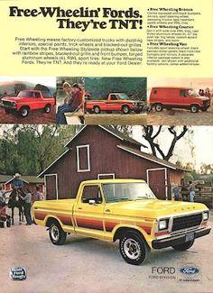 Free-Wheelin' Fords - they're TNT!