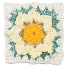 """May, part of Crochet's FREE Afghan Block of the Month. Get the download here: http://www.crochetmagazine.com/crochet_block.php?id=3  """"Like"""" the Crochet Facebook page so you don't miss a single monthly installment: https://www.facebook.com/CrochetMagazine"""