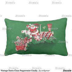 Tren del caramelo de hierbabuena de Papá Noel del
