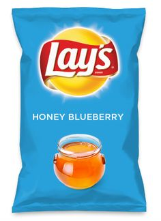 Wouldn't HONEY BLUEBERRY be yummy as a chip? Lay's Do Us A Flavor is back, and the search is on for the yummiest chip idea. Create one using your favorite flavors from around the country and you could win $1 million! https://www.dousaflavor.com See Rules.