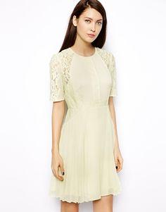 Image 1 ofWhistles Linn Lace Dress