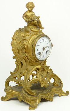 Tiffany Mantle Clock