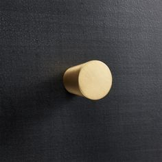 Shop Taper Brushed Brass Knob. Elegant tapered cylinder gives a modern finishing touch to doors and drawers, even antiques.