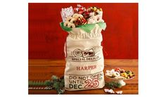 Enter for your chance to Win A Personalized Santas Sack of Treats from Harry & Davids! Drawing December 13th.  Harry & Davids Personalized Santas Sack of Treats Giveaway