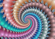 Mandelbrot Fractal Spyral Art Print by Svetlana Nikolova Mandelbrot Fractal, Psychedelic Colors, Fibonacci Spiral, Sacred Geometry, Fractal Geometry, Geometry Art, Fractal Art, Fractal Images, Diy Arts And Crafts