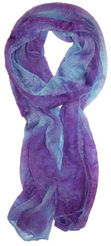 so pretty! purple-y scarf