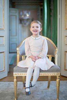 Prinsessan Estelle 4 år - Sveriges Kungahus