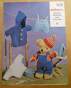 Three outfits for Teddy