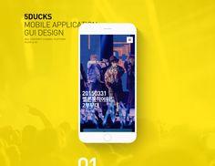 5DUCKS Mobile Application UX/UI Design on Behance