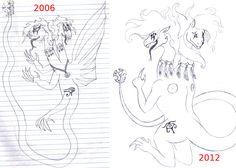 Dragon - Draw this again meme