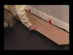 ▶ Laminate Flooring Installation for Clic2Clic by Kronotex - YouTube
