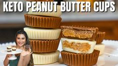 KETO PEANUT BUTTER CUPS! How to Make Keto Peanut Butter Cups LESS THAN 2 CARBS - YouTube Melting Chocolate Chips, White Chocolate Chips, Low Carb Recipes, Whole Food Recipes, Keto Candy, Keto Diet For Beginners, Peanut Butter Cups, Something Sweet, Cravings