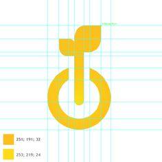HelioEnergy - Sun Resources by Florent Hancquart, via Behance Logo Guidelines, Logo Character, Lab Logo, Visual Identity, Identity Design, Green Earth, Logo Design Inspiration, Blog Design, Symbol Logo
