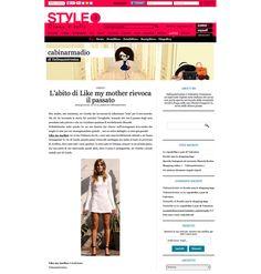 style.it - http://cabinarmadio.style.it/2012/06/28/labito-di-like-my-mother-rievoca-il-passato/