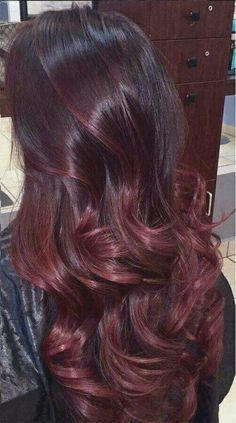 #NotStayingBlueToday #BurgundyColors #Followme #Cool 🍇Try How To Dye Your Burgundy Maroon Hair At Home & Avoid Common Hair Dying Mistakes?🍷Dark Brown Long Hair Short Hair hair care tips for growth hair and skin care best hair product protective natural hairstyles hair growth hacks hair mask for natural hair blonde hair care healthy hair care hair care growth diy best hair texturizer how to moisturize hair best hair extentions Dark Red Hair, Ombre Hair Color, Dark Cherry Hair, Hair Colour, Black Hair, Pelo Color Vino, Cabelo Ombre Hair, Wine Hair, Hair Highlights