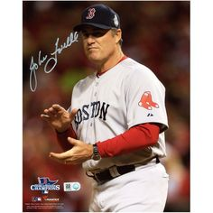 "John Farrell Boston Red Sox Fanatics Authentic Autographed 8"" x 10"" 2013 World Series Gray Uniform Photograph"