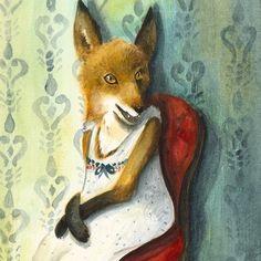 Fox - Mademoiselle - reproduction d