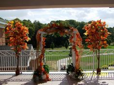 Autumn archway.....