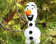 Amigurumi Patterns Olaf : Olaf crocheted snowman for christmas free crochet pattern