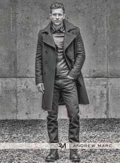 mensfashionworld:  Andrew Marc Fall/Winter 2014 Ad Campaign