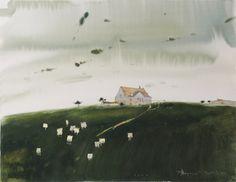 Александр Воцмуш - картины, акварель, продажа