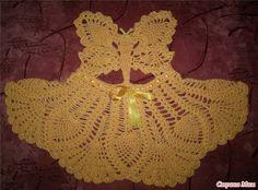 """Uncinetto d'oro: Abito """" La farfalla""""! (per bimbi)"""