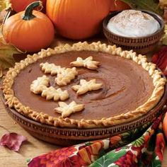 Spiced Pumpkin Pie and other Thanksgiving Desserts