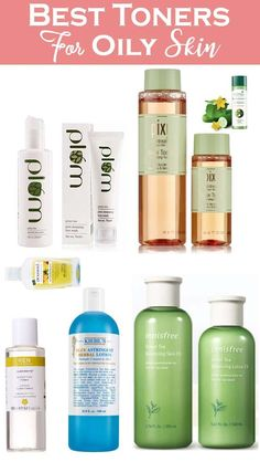 Best Toner For Oily Pimple Skin Must Buy - What is facial toner? A facial toner primarily completes your cleansing regimen. It removes any final traces of Exfoliating Toner, Hydrating Toner, Skin Toner, Facial Toner, Cleanser, Moisturiser, Best Toner For Acne, Toner For Face, Best Korean Toner