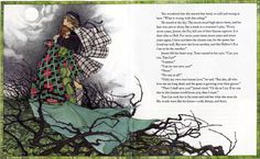 Tam Lin picture book retold by Jane Yolen,  illustrations by Charles Mikolaycak. I adore this book!