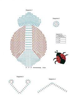Vaquita san antonio en crochet | Manualidades