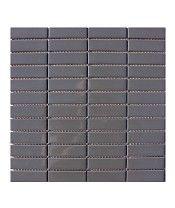Smart Gunmetal Grey 23x73mm Mosaic Tile