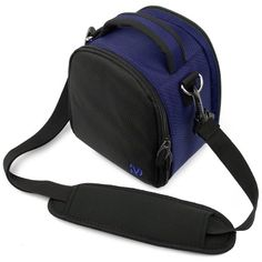 Magic Blue VanGoddy Laurel SLR Camera Carrying Bag for Canon PowerShot SX50 HS Digital SLR Camera -- Check this awesome product by going to the link at the image. (Note:Amazon affiliate link)