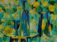 "Saatchi Art Artist Vadim Puyandaev; Painting, ""Butterflies"" #art"