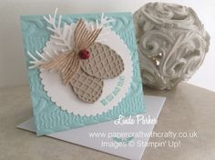Papercraft With Crafty: Texture, Texture & More Texture