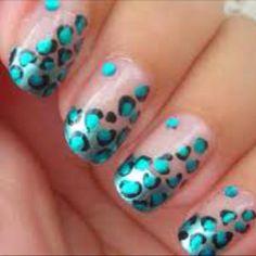 #nails #cheetah #pattern