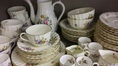 A Royal Worcester Roanoke tea and coffee service Lot 147 Sold £40 #BourneEndAuctionRooms
