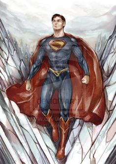 Character created by writer Jerry Siegel and artist Joe Shuster Solitude Titans Rebirth, Superman Pictures, Danger Girl, Old Man Logan, Sketchbook Drawings, Deathstroke, Comic Book Covers, Comic Books, Garter