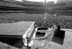 Elton John Dodger Stadium 1975