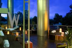 W Mexico City-Located in the trendy Polanco neighborhood, W Mexico City is adjacent to the National Auditorium and approximately 10 miles from Mexico City International Airport. Guests can enjoy the indoor koi ponds, Red Lounge, Whiskey Bar, and fine dining. Alfresco breakfast and lunch is served on the outdoor terrace.