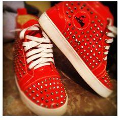 I want these Louboutin sneakers sooooo bad!