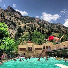 epic action shot from Eldorado Springs Pool