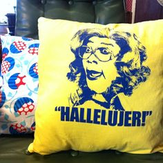 NEED this pillow! Love me some Madea!
