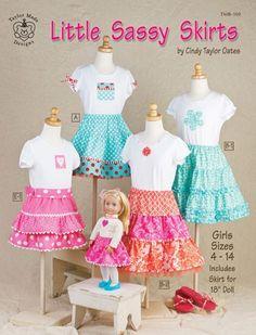 Sassy skirt for kids