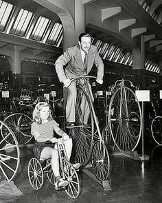 Walt Disney & One Of His Daughters