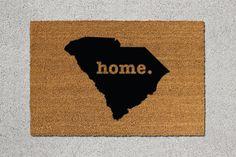South Carolina Doormat South Carolina Door Mat by TheDoormatory