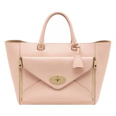 Mulberry - Willow Tote in Nude Classic Calf