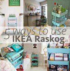 5 Ways To Use The Raskog Cart From Ikea