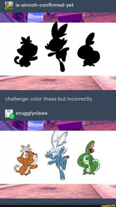is-sinnoh-confirmed-yet Challenge: color these but incorrectly - iFunny :) Pokemon Comics, Pokemon Funny, Pokemon Memes, Pokemon Fan Art, Nintendo Pokemon, Pokemon Cards, Team Rocket, Stupid Memes, Funny Memes